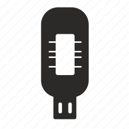 data, device, hardware, memory, storage, usb icon