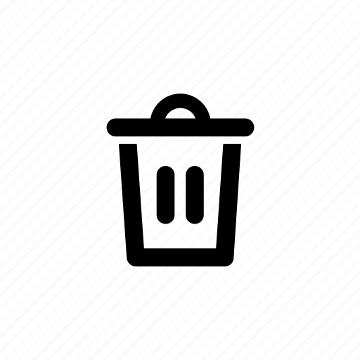 Bin, delete, garbage, remove, trash, trash-can icon - Download on Iconfinder
