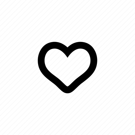 bookmark, empty-heart, favorite, heart, like, love, preference icon
