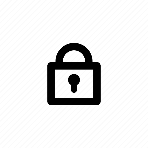 access, key, lock, locked, padlock, secure, security icon