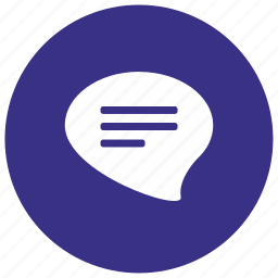 dialog, message, messages icon