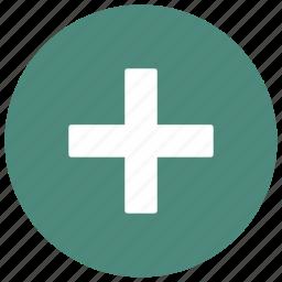 add, form, plus, round icon