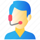call center, customer service, customer support, service center, support icon