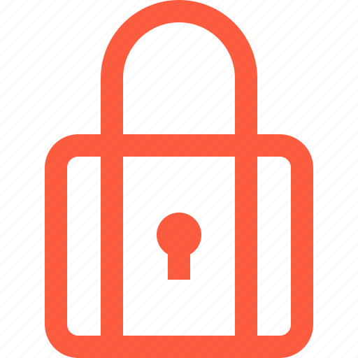 closed, lock, padlock, pass, password, secure icon