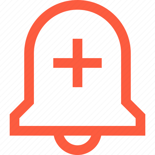 add, alarm, bell, create, new, ring, set, signal icon