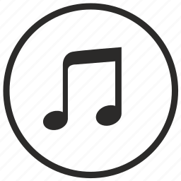composition, music, note, round, song icon