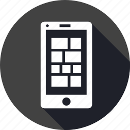 application, content, design, grid, mobilelayout, webpage icon