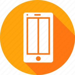 application, browser, grid, mobile, vertical, webpage, wireframe icon