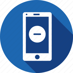 app, application, delete, minus, mobilelayout, sign, webpage icon