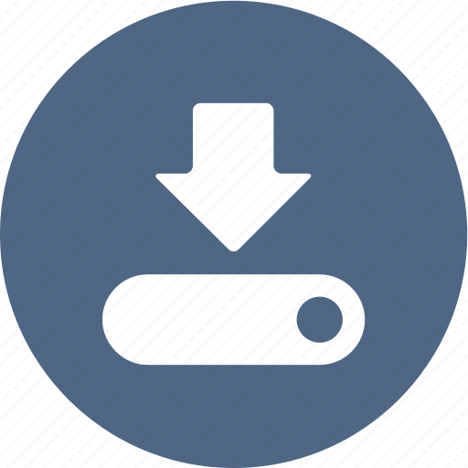 arrow, computer, download, guardar, save, saving icon