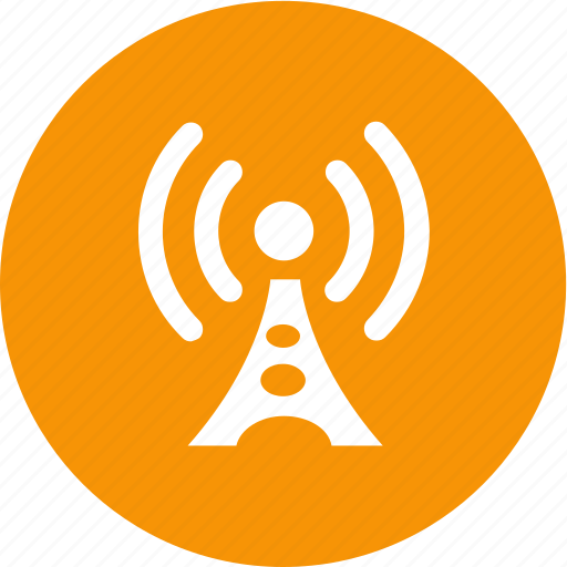 broadcast, communication, radio, signal, tower, wireless icon