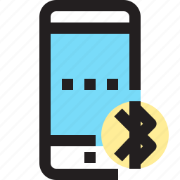 app, bluetooth, contact, mobile, smartphone icon