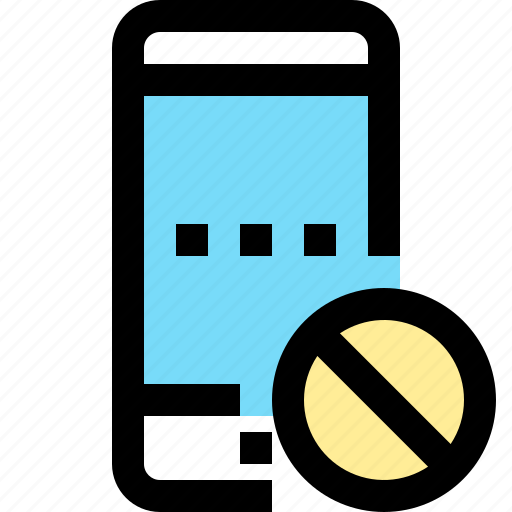 app, contact, danger, mobile, smartphone icon