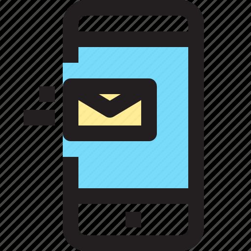 app, contact, e, mail, mobile, smartphone icon