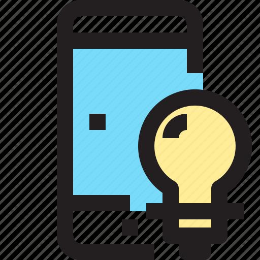 app, contact, idea, mobile, smartphone icon