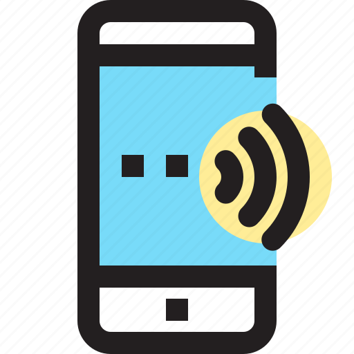 app, contact, mobile, smartphone, wifi icon