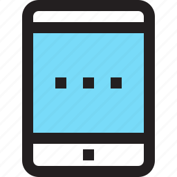 app, contact, mobile, smartphone, tablet icon