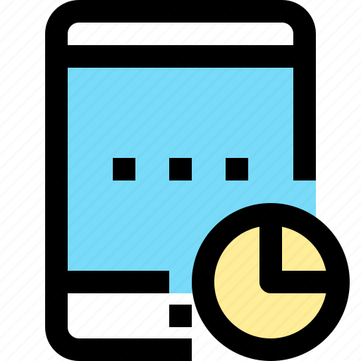 app, contact, mobile, smartphone, tablet, time icon