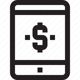 app, banking, contact, mobile, smartphone, tablet icon