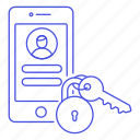 mobile, in, smartphone, user, password, security, passcode, sign, lock, phone, key