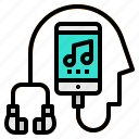 media, multimedia, music, phone, smartphone icon
