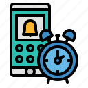 alert, note, organiser, phone, smartphone icon