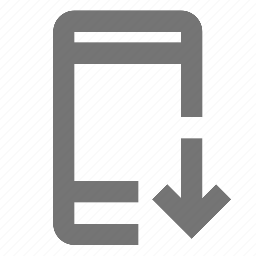 call, communication, contact, download, material, mobile, outgoing icon