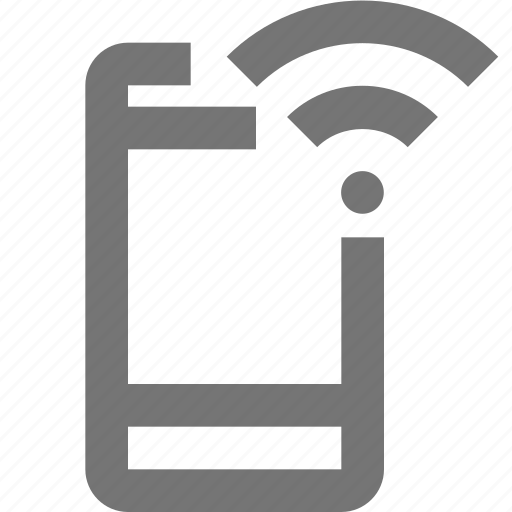 call, communication, contact, material, mobile, network, wifi icon