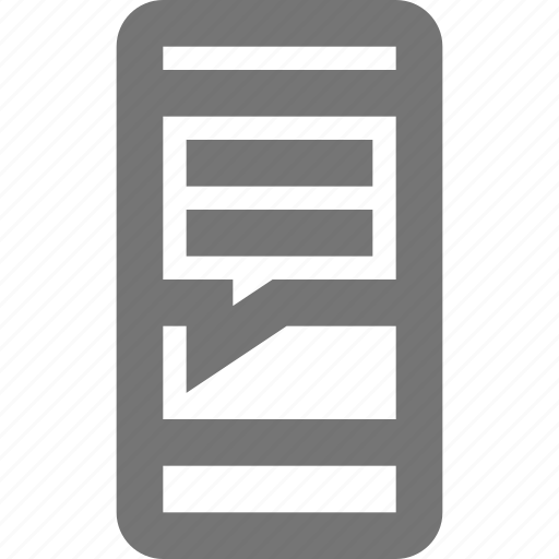 call, chat, communication, contact, material, message, mobile icon
