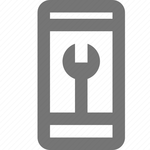 call, communication, contact, material, mobile, settings, setup icon
