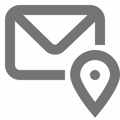 contact, location, mail, material, navigation icon