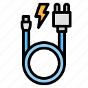 cable, accessory, phone, usb, charger