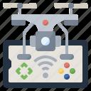camera, control, drone, electronics, remote, transportation, ui icon