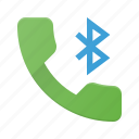 bluetooth, call, phone, telephone icon