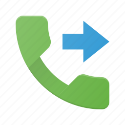 call, forward, phone, telephone icon
