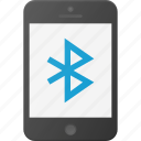 bluetooth, mobile, phone, smart, smartphone icon