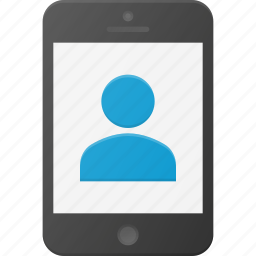 contact, mobile, phone, smart, smartphone icon