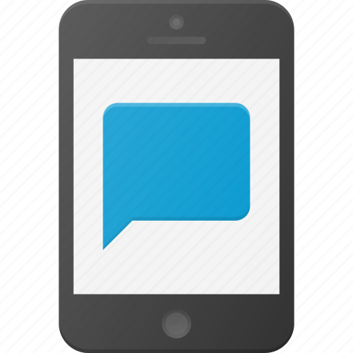 messagemessaging, mobile, phone, smart, smartphone icon