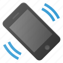 mobile, phone, smart, smartphone, sound, vibrate icon
