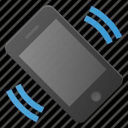 mobile, phone, smart, smartphone, sound, vibrate icon
