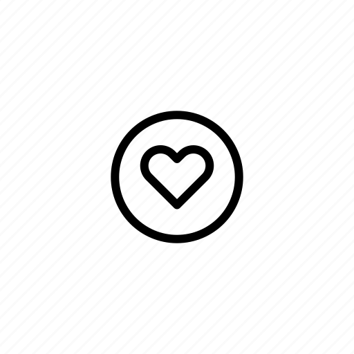bookmark, clipping, favorite, flag, heart, love, mark icon