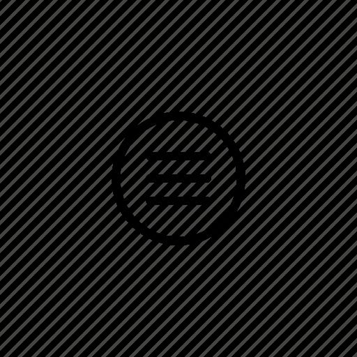 burger menu, left align, list, menu, mobile menu, mobile navigation icon