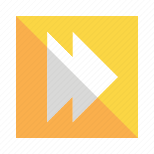audio, forward, music, next, play, video icon