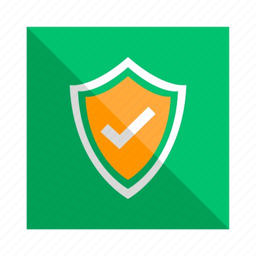 approved, notification, safe, security, verified icon
