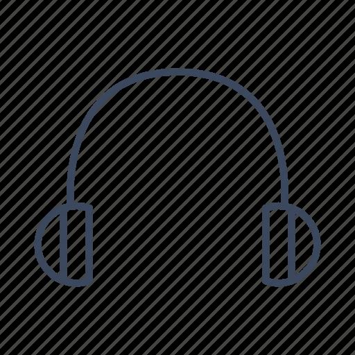 audio, earphone, headphones icon