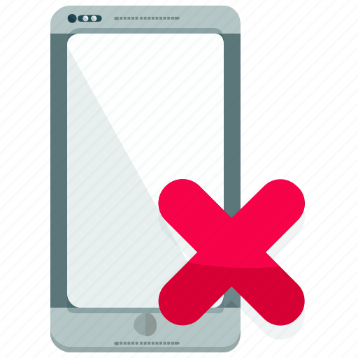 browser, cancel, internet, mobile, smartphone icon