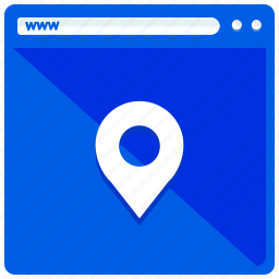browsing, location, mobile, navigation, web, webpage icon