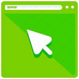 browser, browsing, mobile, pointer, select, web, webpage icon