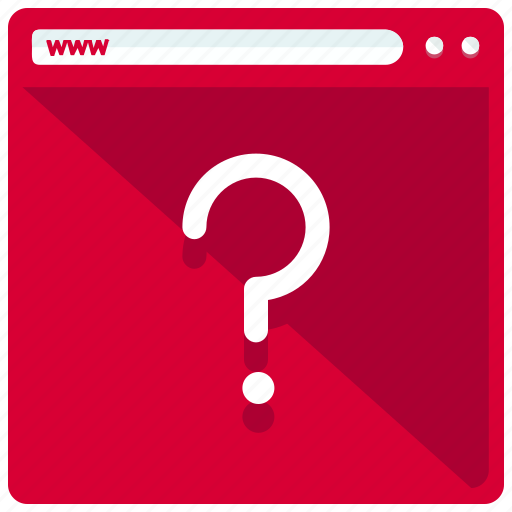 browser, browsing, mobile, question, web, webpage icon