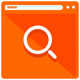 browsing, magnifier, mobile, search, web, webpage icon